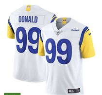 Nike Los Angeles Rams 99 Aaron Donald White Jersey